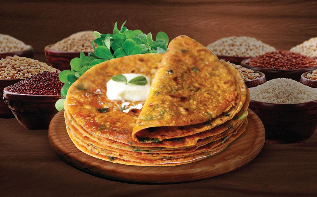 Millet Fenugreek Chapati Mix